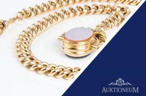 Ankauf Schmuck: Goldschmuck und SIlberschmuck im Auktioneum verkaufen