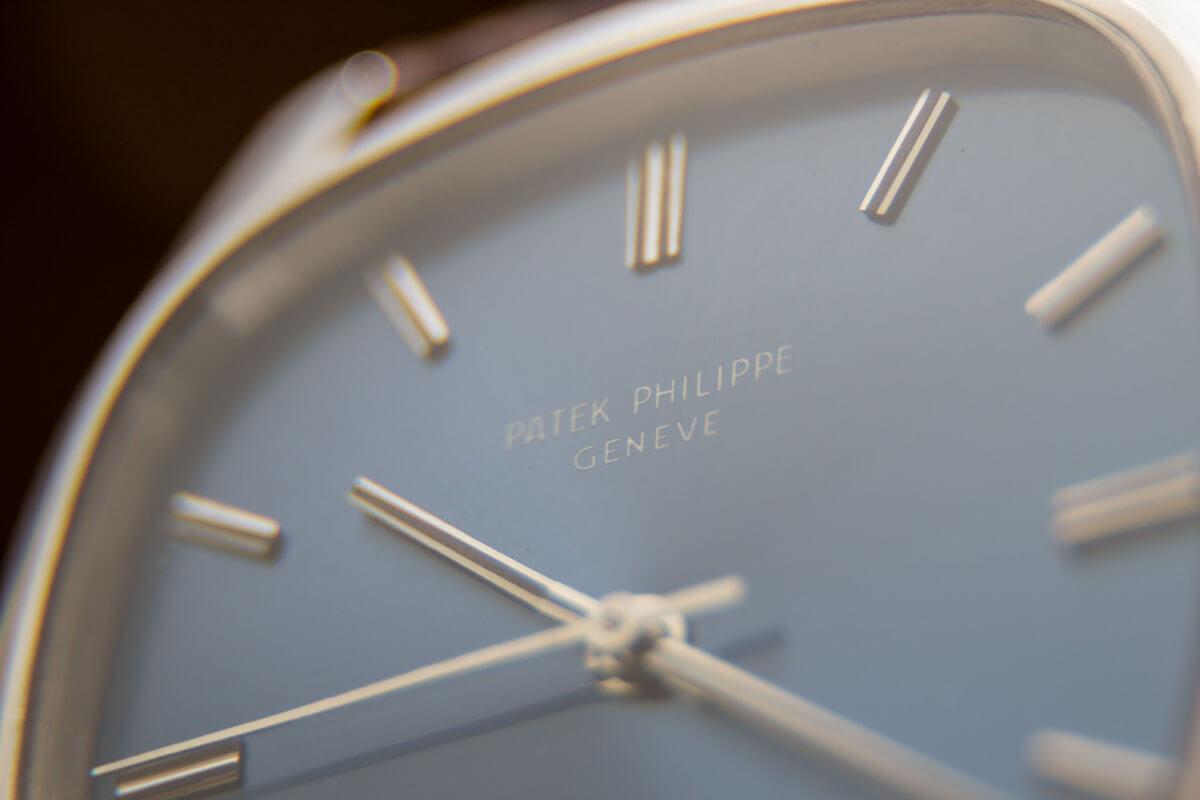 Detailansicht Uhr Patek Philippe Geneve