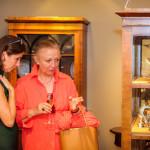 Hoher Besuch im Auktioneum